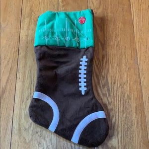 Football Stocking that lights up and plays music